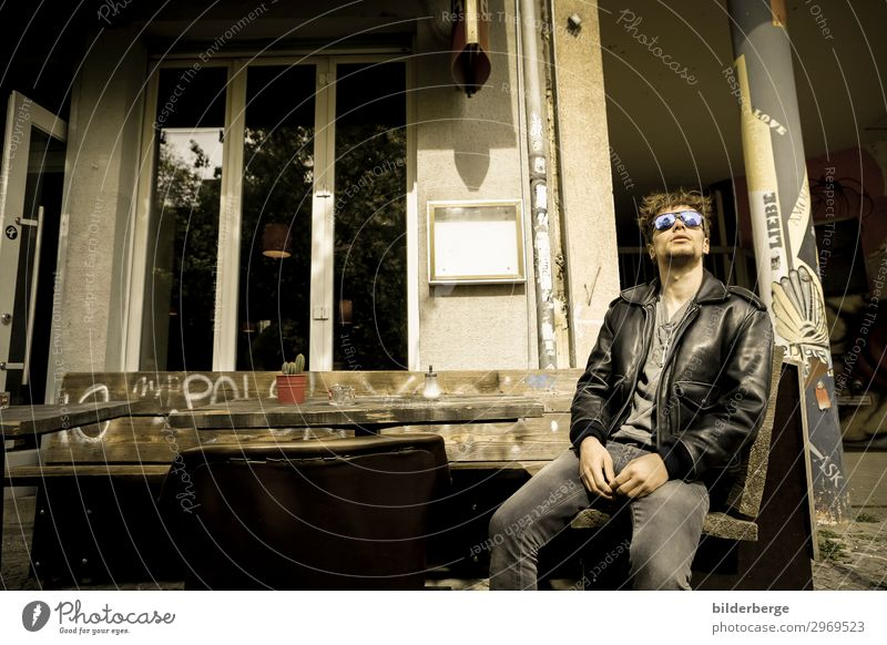 berlin-style 8 Lifestyle Vacation & Travel Tourism Young man Youth (Young adults) Capital city Fashion Sunglasses Cool (slang) Power Eyeglasses youthful Berlin