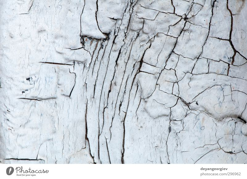 Old cracked paint on old boards Old Green White Wall (building) Wall (barrier) Facade Dirty Material Crack & Rip & Tear Surface Weathered Rough Damage Consistency Grunge Decay