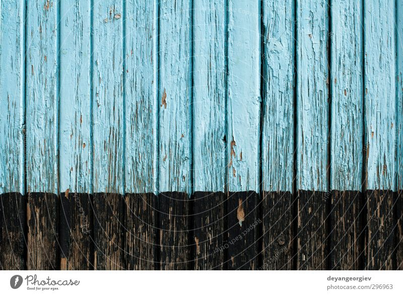 Old cracked paint on old boards Blue Green White Wall (building) Wood Wall (barrier) Dirty Material Crack & Rip & Tear Surface Weathered Rough Damage