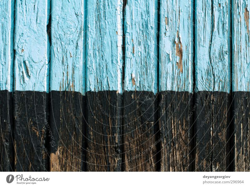 Old cracked paint on old board Wall (barrier) Wall (building) Wood Dirty Blue Green White Consistency background wall wooden Weathered Rough Grunge