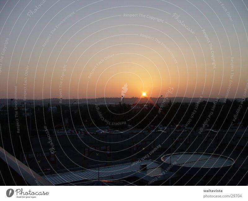 sunrise Sunrise Town Sunset Europe toulouse Landscape Morning Evening