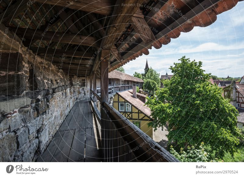 Medieval city wall. Lifestyle Leisure and hobbies Vacation & Travel Tourism Trip Freedom Sightseeing City trip Summer Art Museum Architecture Environment