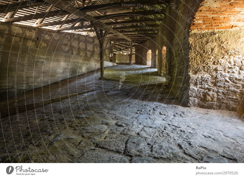 Inside the Bastion of Rothenburg. Design Vacation & Travel Tourism Sightseeing City trip Work and employment Economy Construction site Business Art Architecture