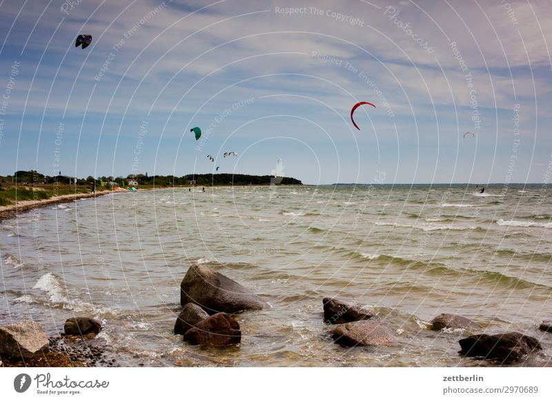 kite school Vacation & Travel Island Coast Agriculture Mecklenburg-Western Pomerania Ocean good for the monk Nature Baltic Sea Baltic island Travel photography