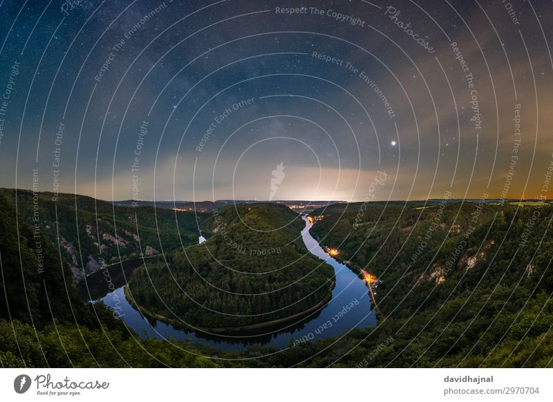 Saar loop Vacation & Travel Tourism Trip Adventure Sightseeing Astronomy Environment Nature Landscape Air Water Sky Clouds Night sky Stars Horizon Summer Tree