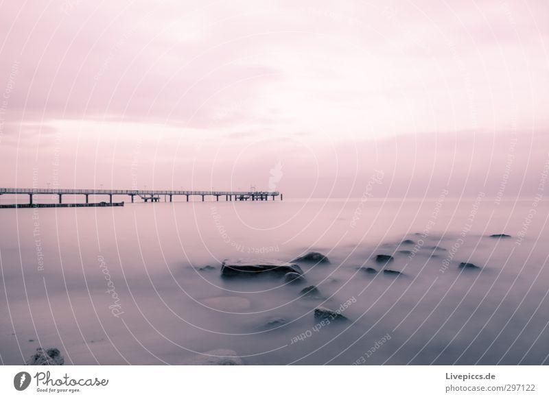 Baltic coast Trip Beach Ocean Nature Landscape Water Sky Clouds Sunrise Sunset Autumn Coast Baltic Sea Bridge Serene Loneliness Freedom Stone