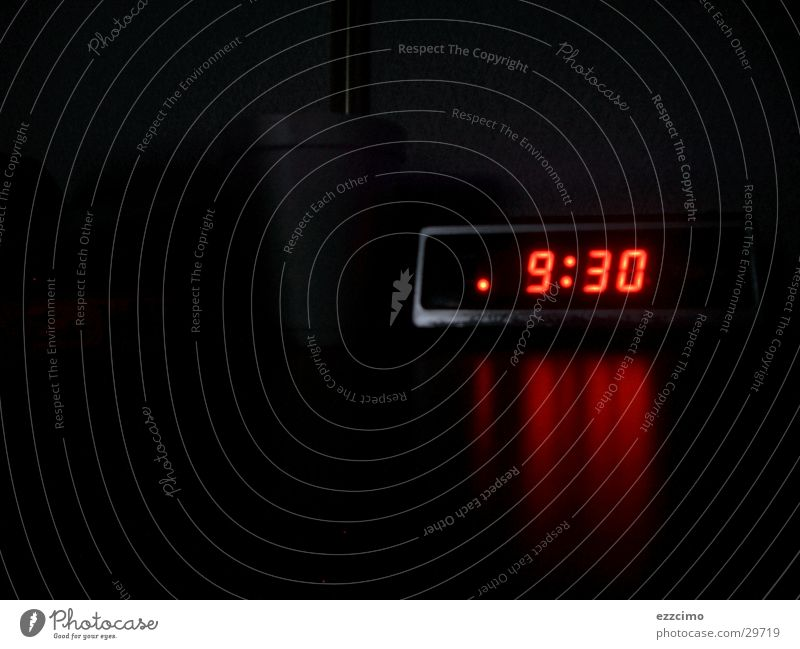 Dark Time Clock Obscure Radio (broadcasting) Late Digital photography Alarm clock Filter