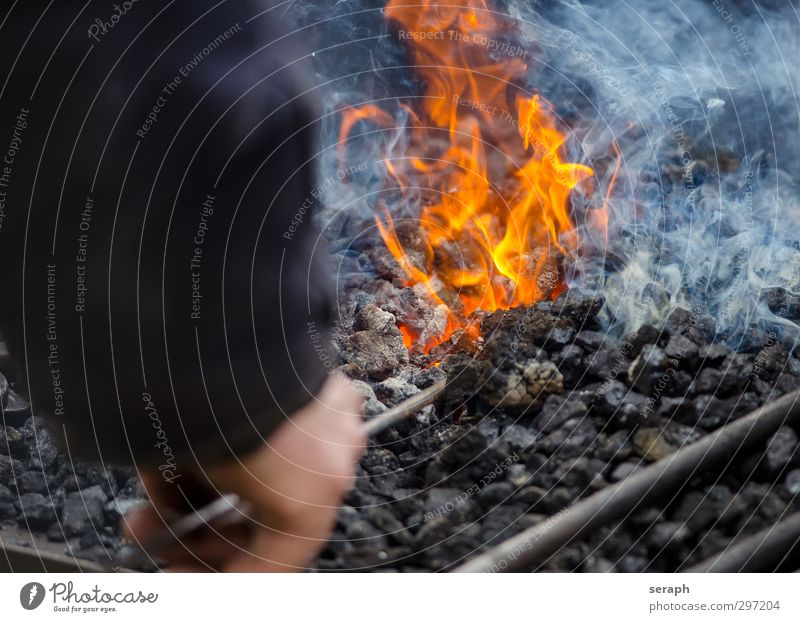Fire Hot Historic Steel Tool Tradition Flame Employees & Colleagues Iron Craftsperson Glow Heat Old fashioned Embers Coal Ironworks