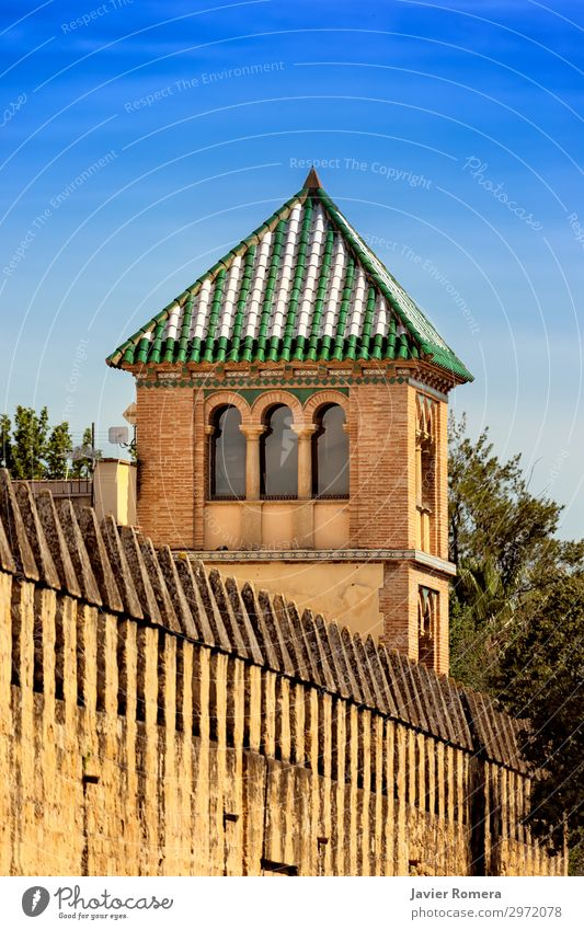 Pyramidal dome in an arabic style tower Style Vacation & Travel Tourism Decoration Art Culture Sky Building Architecture Facade Monument Stone Ornament Old