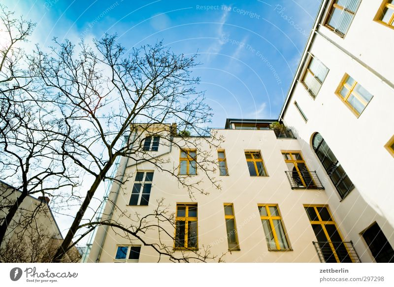 Sky Nature City Tree House (Residential Structure) Spring Berlin Weather Facade Flat (apartment) Climate Beautiful weather Living or residing Good