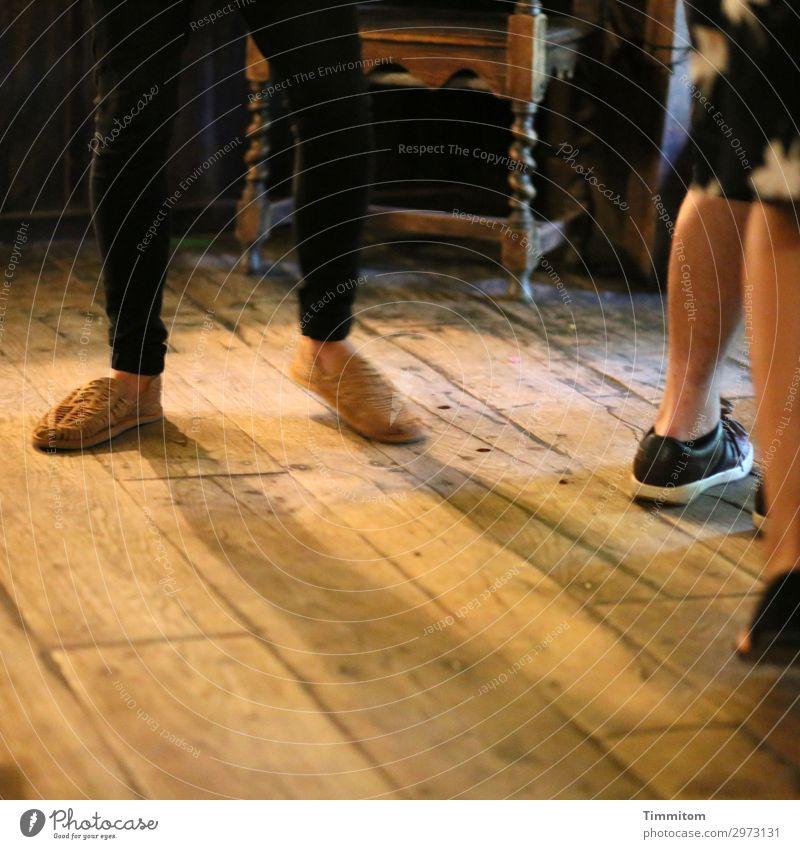 Dancing In The Barn Vacation & Travel Human being Legs Feet Dance Great Britain Pants Footwear Wood Movement Simple Brown Black Emotions