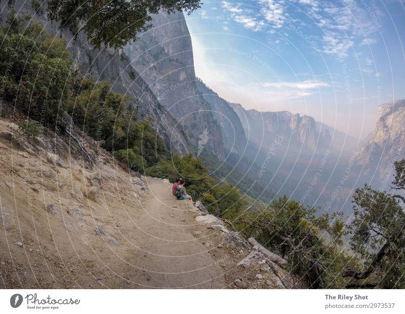 Yosemite National Park hiking trail Lifestyle Beautiful Healthy Wellness Vacation & Travel Tourism Trip Adventure Summer Sun Mountain Hiking Sports Education