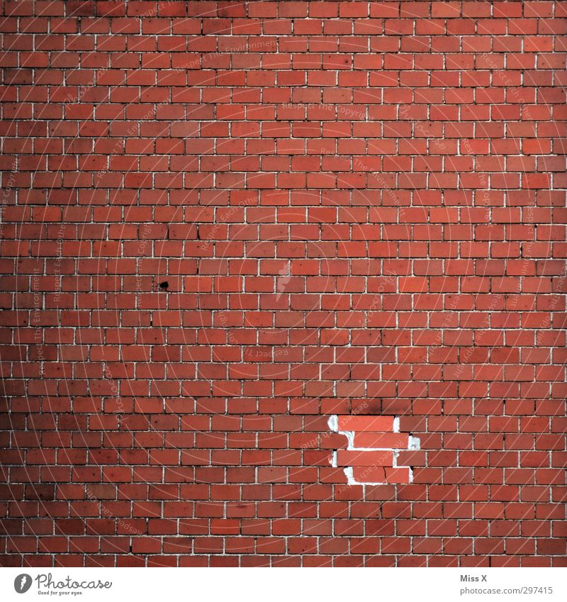 Higher beings ordered... House (Residential Structure) Wall (barrier) Wall (building) Broken Brick Brick wall Brick facade Brick-built house Hollow Renovated