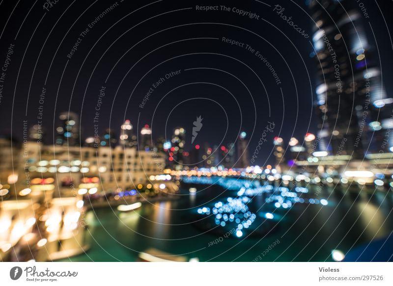 Glittering Illuminate Crazy Tourist Attraction Famousness Dubai