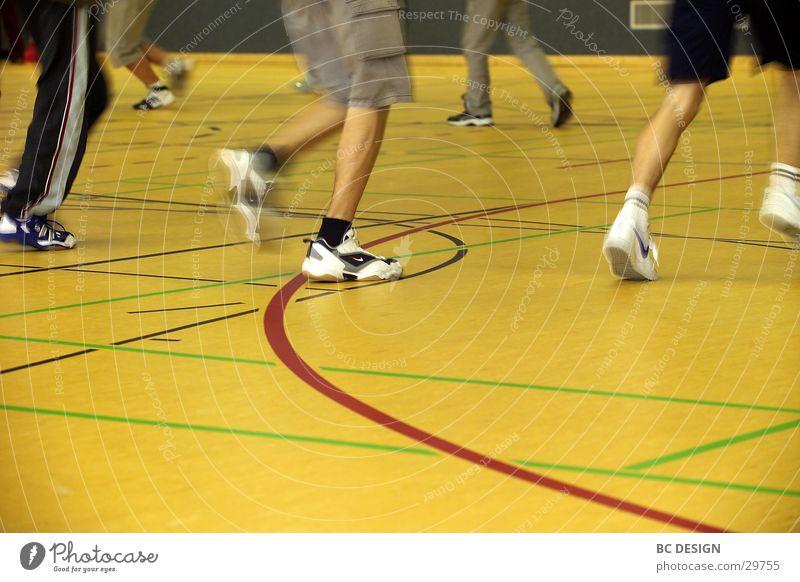 Human being Yellow Sports Walking Sneakers Gymnasium