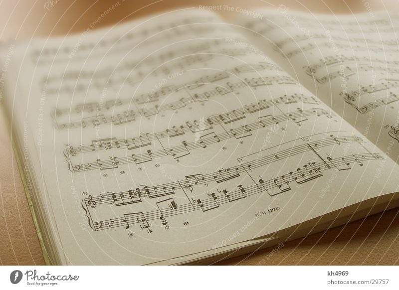 sheet of music Paper Leisure and hobbies Musical notes