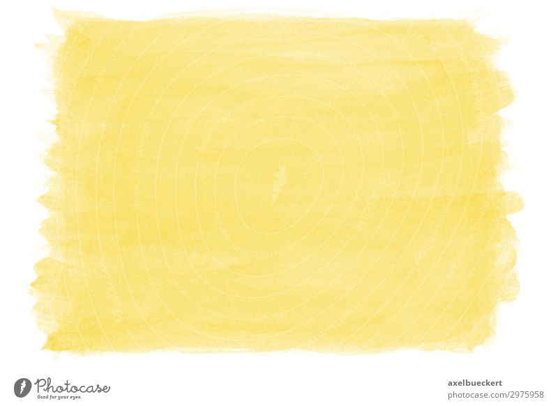 hand-painted watercolor background yellow Design Art Work of art Yellow Background picture Watercolors Brush stroke Structures and shapes