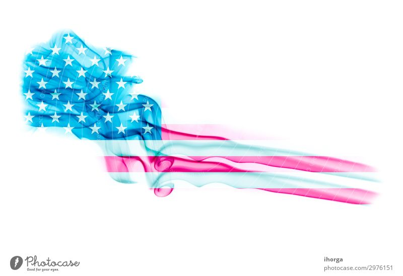 United States flag with smoke texture on white background Freedom Feasts & Celebrations Monument Stripe Flag Blue Red White Honor Colour Independence July USA