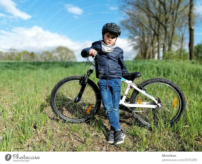 Child Human being Vacation & Travel Joy Life Spring Boy (child) Tourism Freedom Trip Leisure and hobbies Field Infancy Adventure Cycling Cute