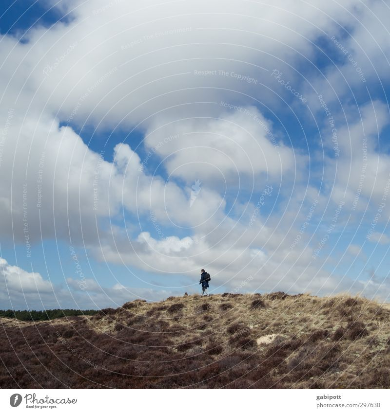 Rømø | Hinterland Environment Nature Landscape Elements Sky Clouds Horizon Bad weather Hill Rock Hiking Wild Movement Relaxation Leisure and hobbies