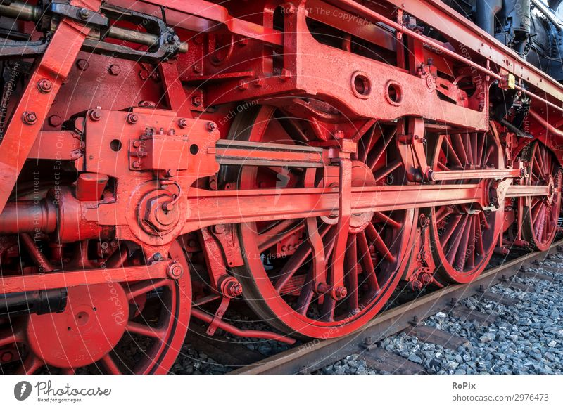 mechanics of a steam loco Leisure and hobbies Work and employment Workplace Economy Industry Business Company Machinery Engines Technology Art Museum