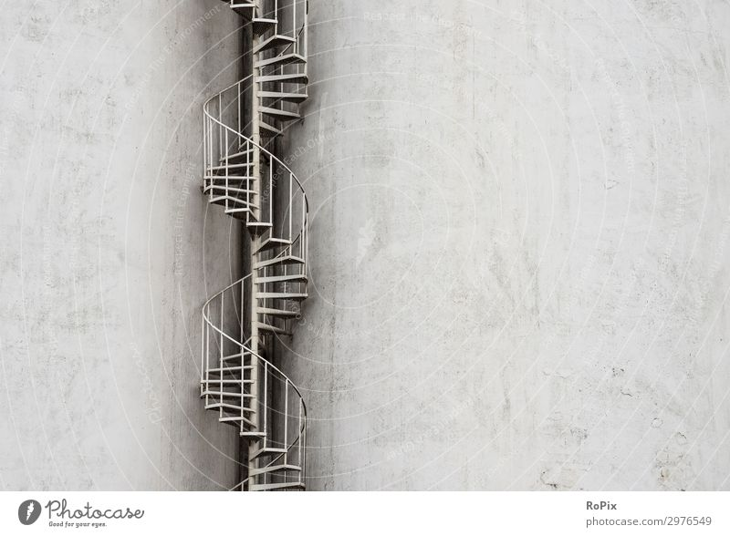 fire escape Lifestyle Design Vacation & Travel Sightseeing City trip Work and employment Profession Workplace Factory Economy Agriculture Forestry Industry