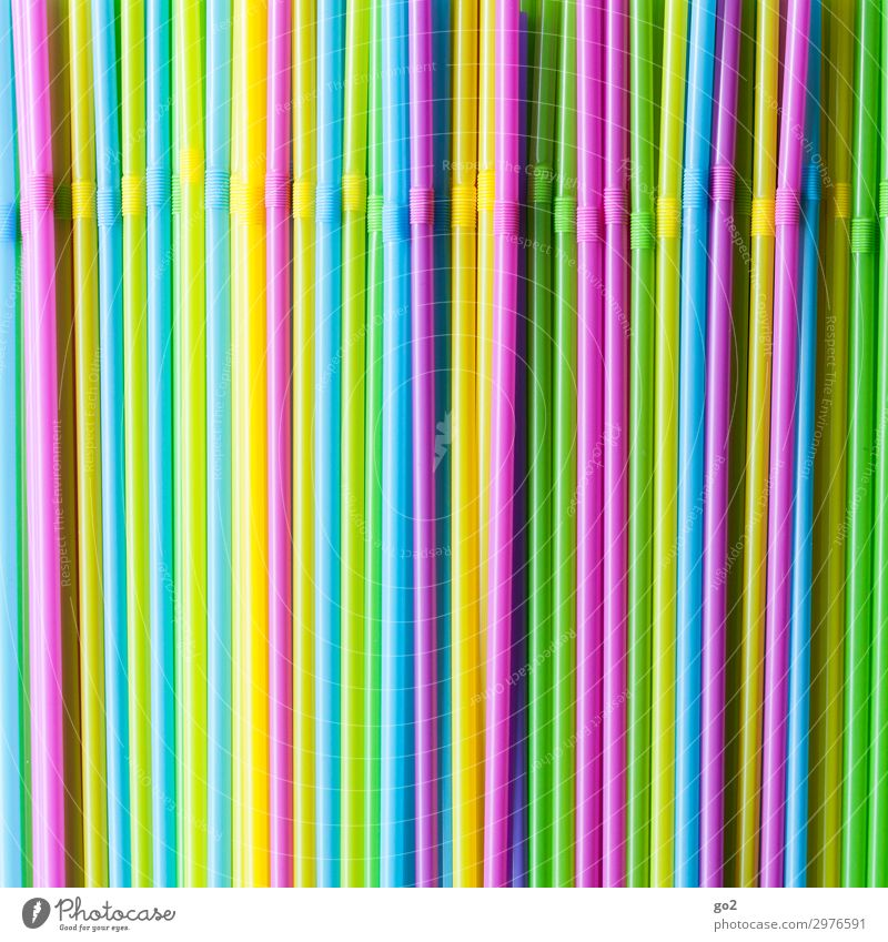 straws Cold drink Longdrink Cocktail Vacation & Travel Summer Summer vacation Party Bar Cocktail bar Drinking Feasts & Celebrations Straw Trash Plastic waste