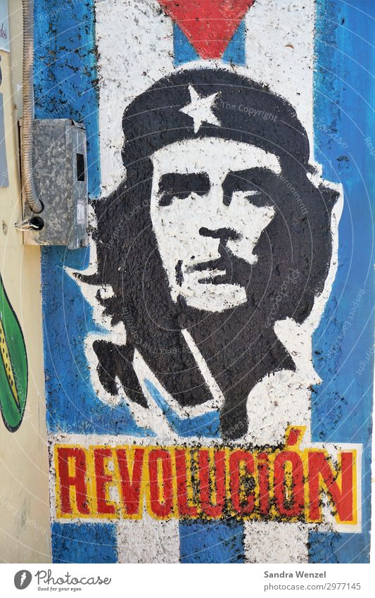 Che Guevara Masculine 1 Human being Uniqueness Politics and state Communism Cuban Revolution Americas Government Colour photo Multicoloured Deserted Day