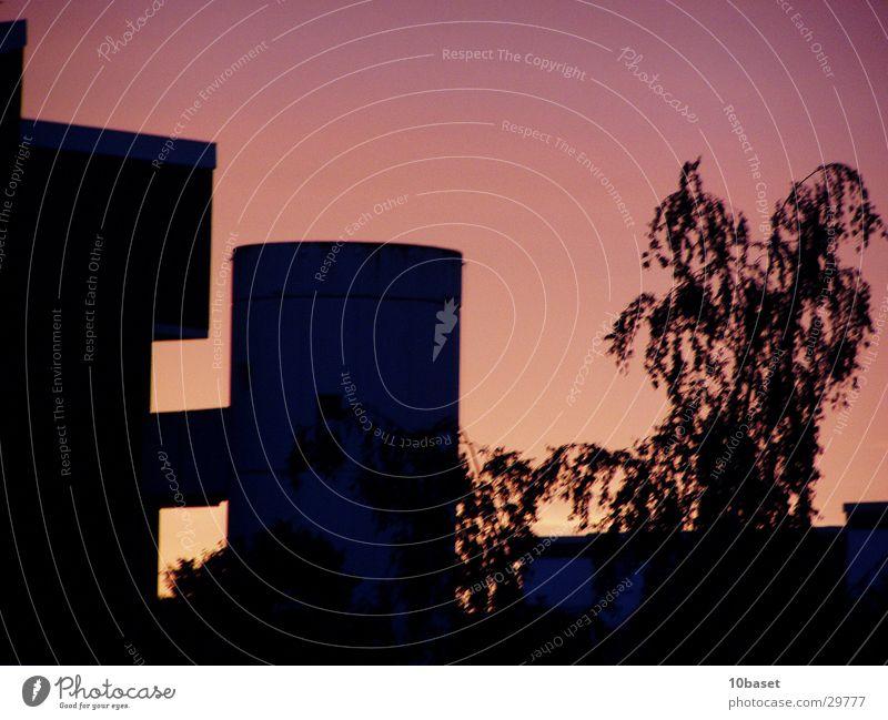 Sky Sun Architecture Tower Dusk Prefab construction Wolfsburg