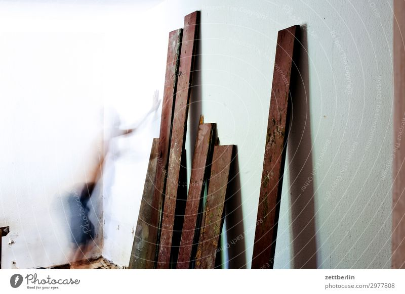 planks Old building Period apartment Construction site Wall (barrier) Room Interior design Redecorate Modernization Redevelop Wall (building) Living or residing