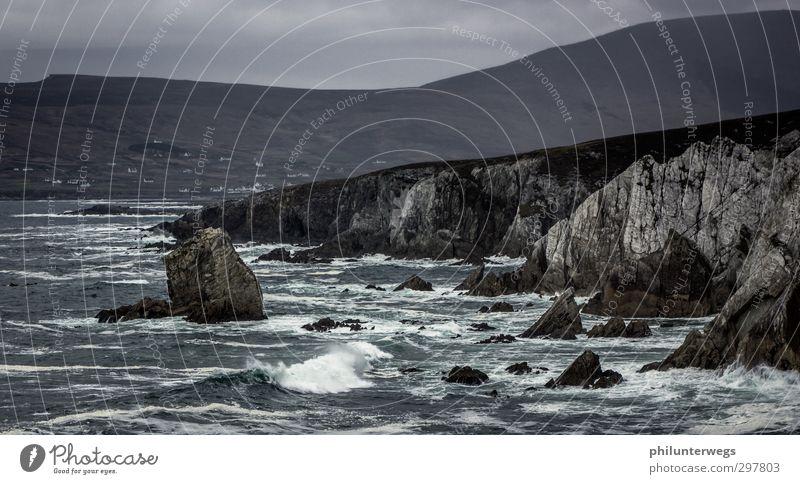 Water Ocean Landscape Autumn Coast Brown Rock Rain Weather Waves Wind Earth Climate Island Tourism Dangerous