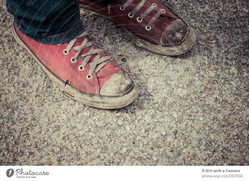 Red Fashion Footwear Modern Trashy Sneakers