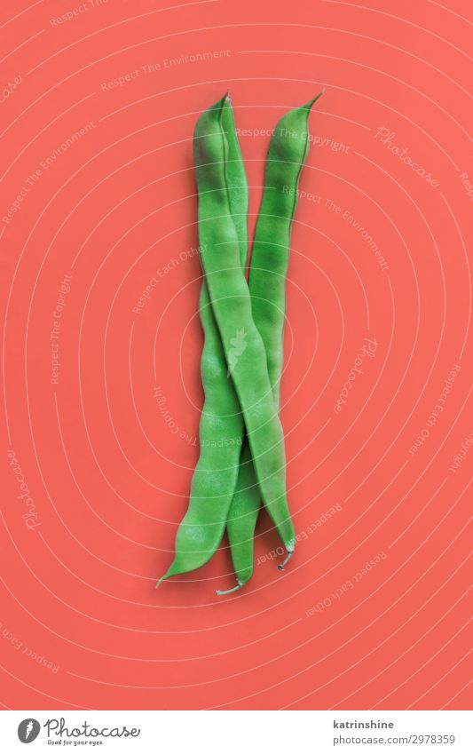Piattoni green beans Green Red Nutrition Fresh Vegetable Vegetarian diet Vegan diet Ingredients Cut Beans