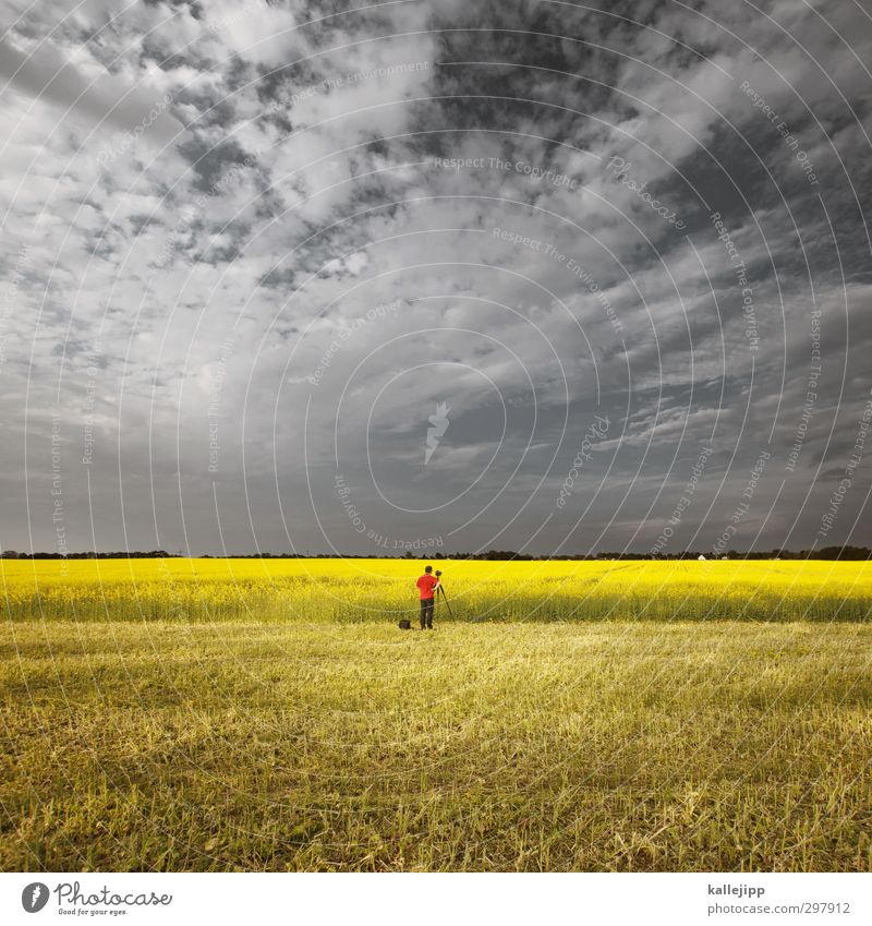 Human being Sky Nature Man Plant Red Loneliness Flower Landscape Animal Clouds Adults Environment Yellow Life Spring