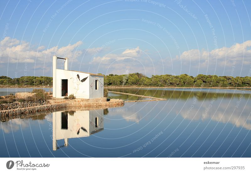 Saltworks Formentera Vacation & Travel Tourism Summer Summer vacation Island Landscape Water Sky Beautiful weather Lake Authentic Blue Esthetic Environment