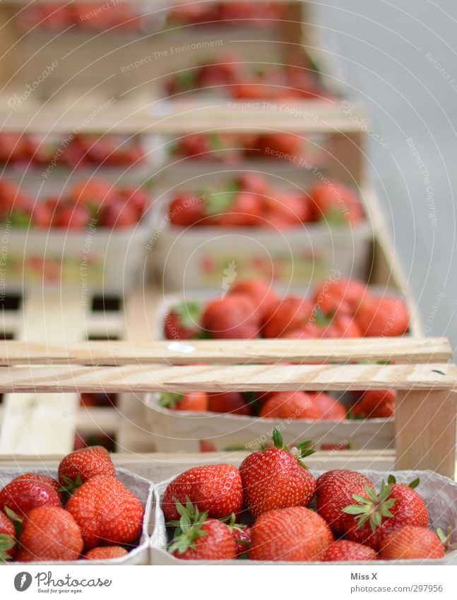 strawberries Food Fruit Nutrition Organic produce Vegetarian diet Sell Fresh Healthy Delicious Juicy Sweet Red Strawberry Berries Fruit basket Box of fruit