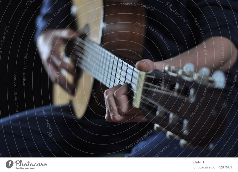 guitar playing Joy Leisure and hobbies Playing Night life Human being Hand Fingers 1 Artist Event Music Concert Musician Guitar Creativity Moody Colour photo