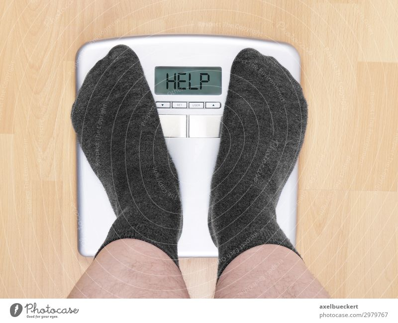 Balance calls for help Lifestyle Healthy Health care Overweight Living or residing Human being Masculine Man Adults 1 Stand Humor Scale Weigh Weight problems