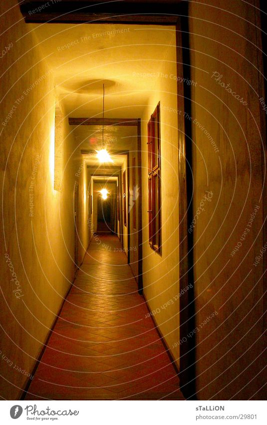 gang Electric bulb Long Physics Architecture Warmth Castle Corridor