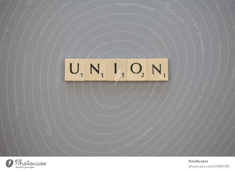 #A# UNION Art Work of art Esthetic Alliance Word Scrabble Letters (alphabet) Gray Politics and state Christian Democratic Union Attachment Coalition