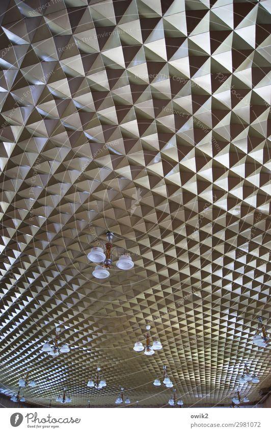 residual item Hall Room Ceiling Blanket Lamp Lampshade Hang Sharp-edged Retro Many Crazy Bizarre Complex Decoration Wall decoration Socialism Moldova