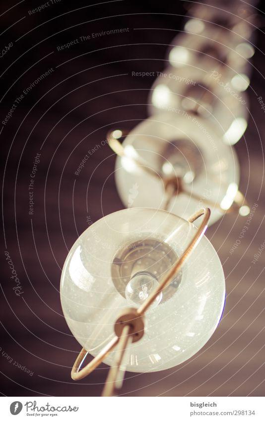 Green Lamp Brown Glass Chain Electric bulb