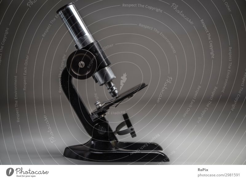 historic microscope Style Design Leisure and hobbies Education Science & Research School Study Classroom Teacher Apprentice Laboratory Work and employment