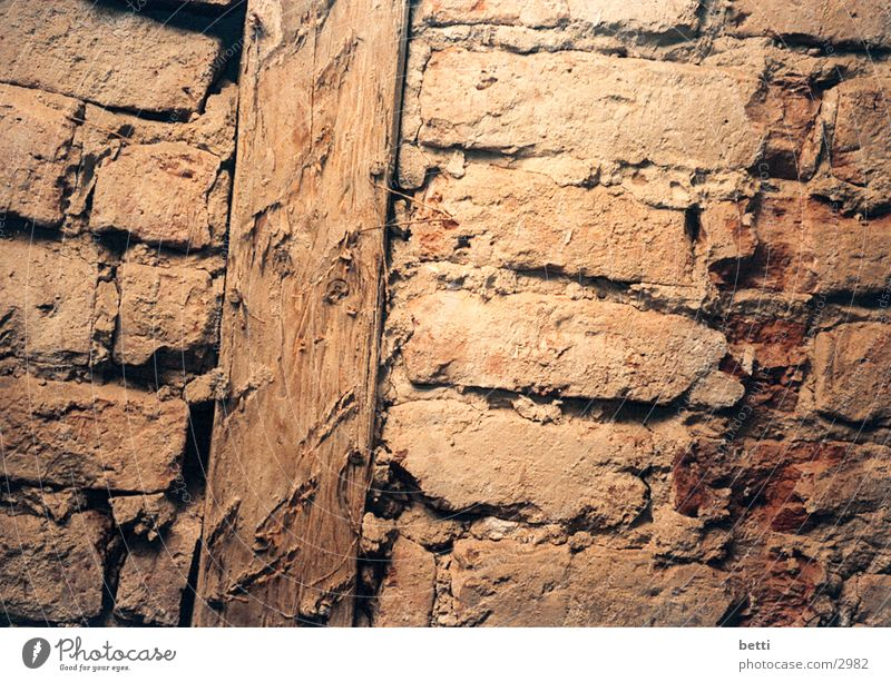 stones Wall (building) Loam Half-timbered facade Historic Stone