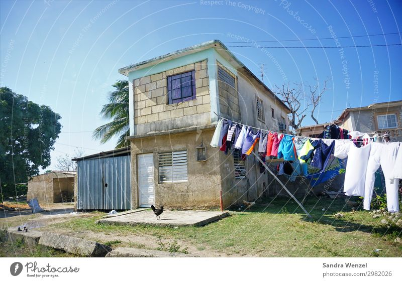 House in Mantanzas matanzas Cuba Varadero Village House (Residential Structure) Detached house Hut Manmade structures Building Simple Uniqueness Help Revolt