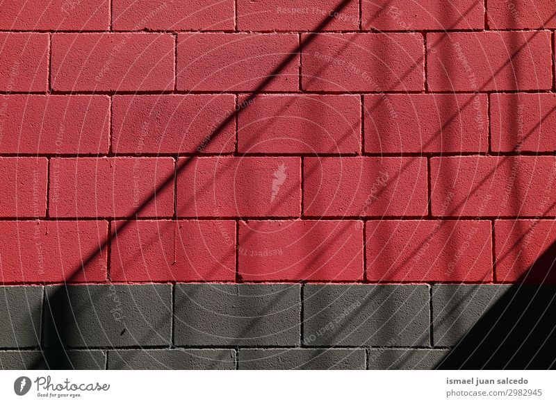 black and red wall abstract background textured in the street Wall (building) Red Colour Multicoloured Consistency Pattern Stone Broken Architecture
