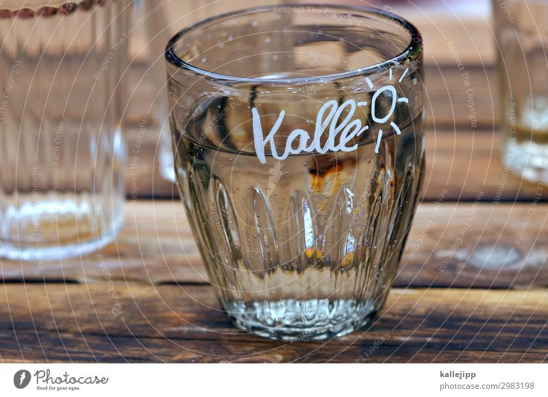 kalle´s Beverage Drinking Cold drink Drinking water Lifestyle Living or residing Garden Sign Characters Glass Water Tumbler Sun Lettering Barbecue (event)