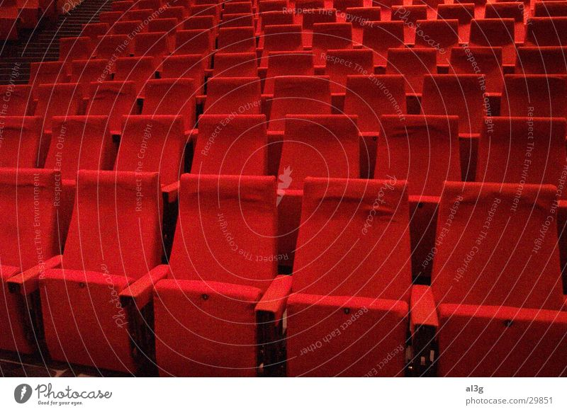 Architecture Places Lecture hall Concert Theatre Seating Row of seats Bochum Audimax