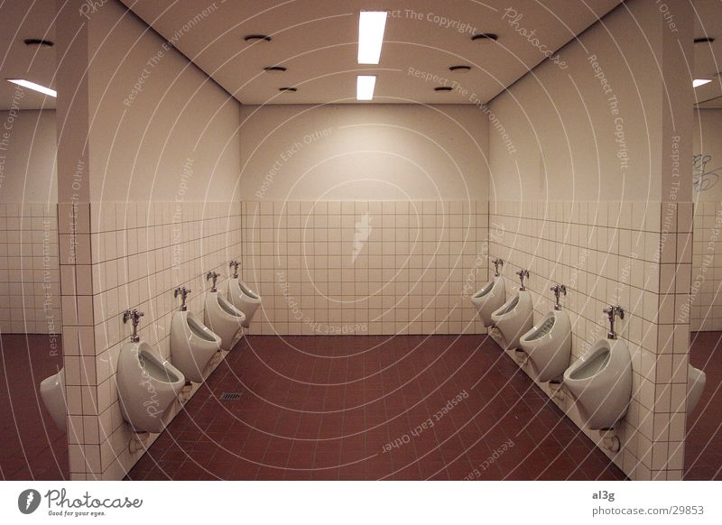 Architecture Toilet Neon light Gentleman Urinal