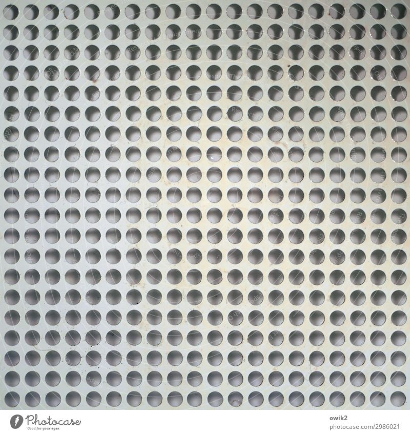 Arrangement Round Many Hollow Grating Puzzle Circle Illusion Unclear Precision Accuracy Metal grid